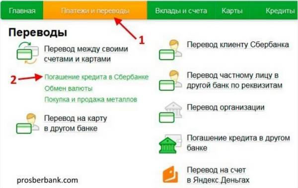 расчет досрочного погашения кредита в сбербанке калькулятор онлайн